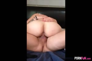 Cuckold GF Gets A Creampie From A Stranger